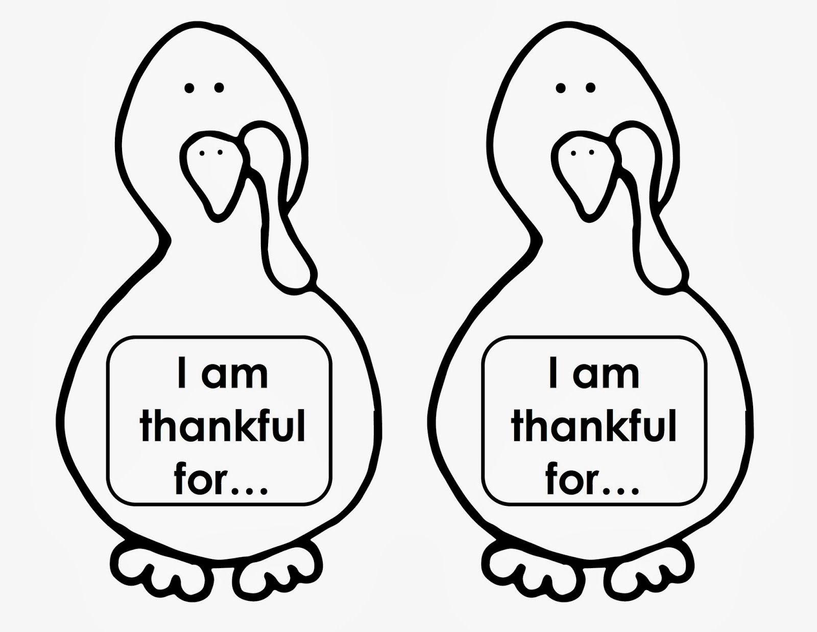 thanksgiving turkey craft templates printable turkey coloring pages