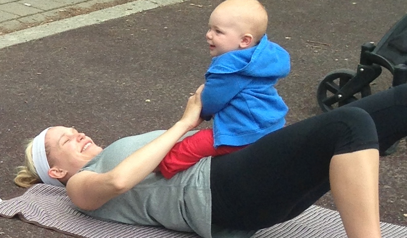 Finding Balance with Food & Fitness & Baby