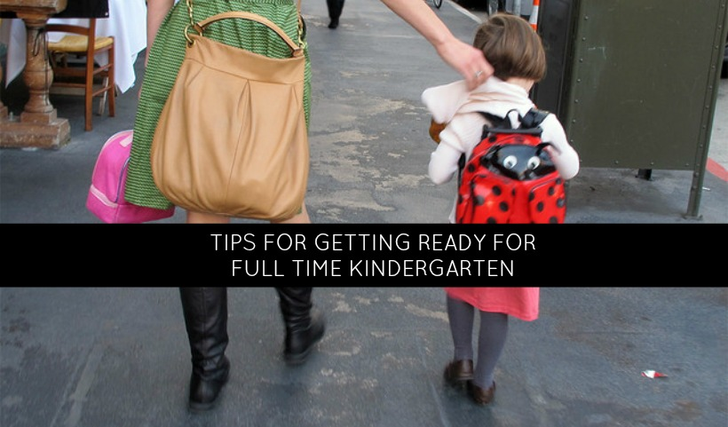 Back to School: Getting Ready for Full Day Kindergarten