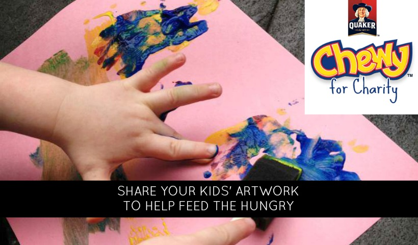 Share Your Kids' Artwork & Give Back with ChewyforCharity.ca