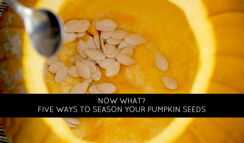 5 Ways to Season Your Pumpkin Seeds