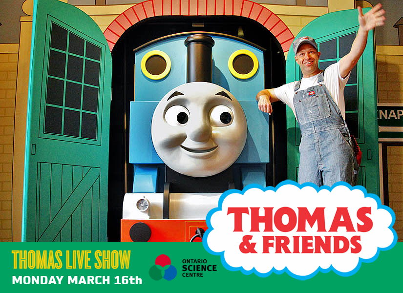 FREE THOMAS & FRIENDS LIVE SHOW ON MARCH 16th IN TORONTO!